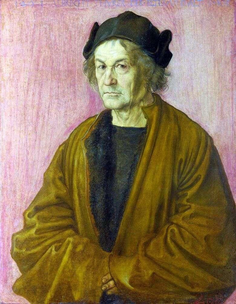 Описание картины Альбрехта Дюрера «Отец Альбрехта Дюрера (Портрет отца)»