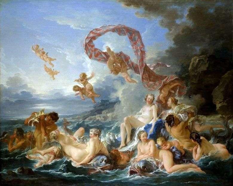 Описание картины Франсуа Буше «Триумф Венеры»