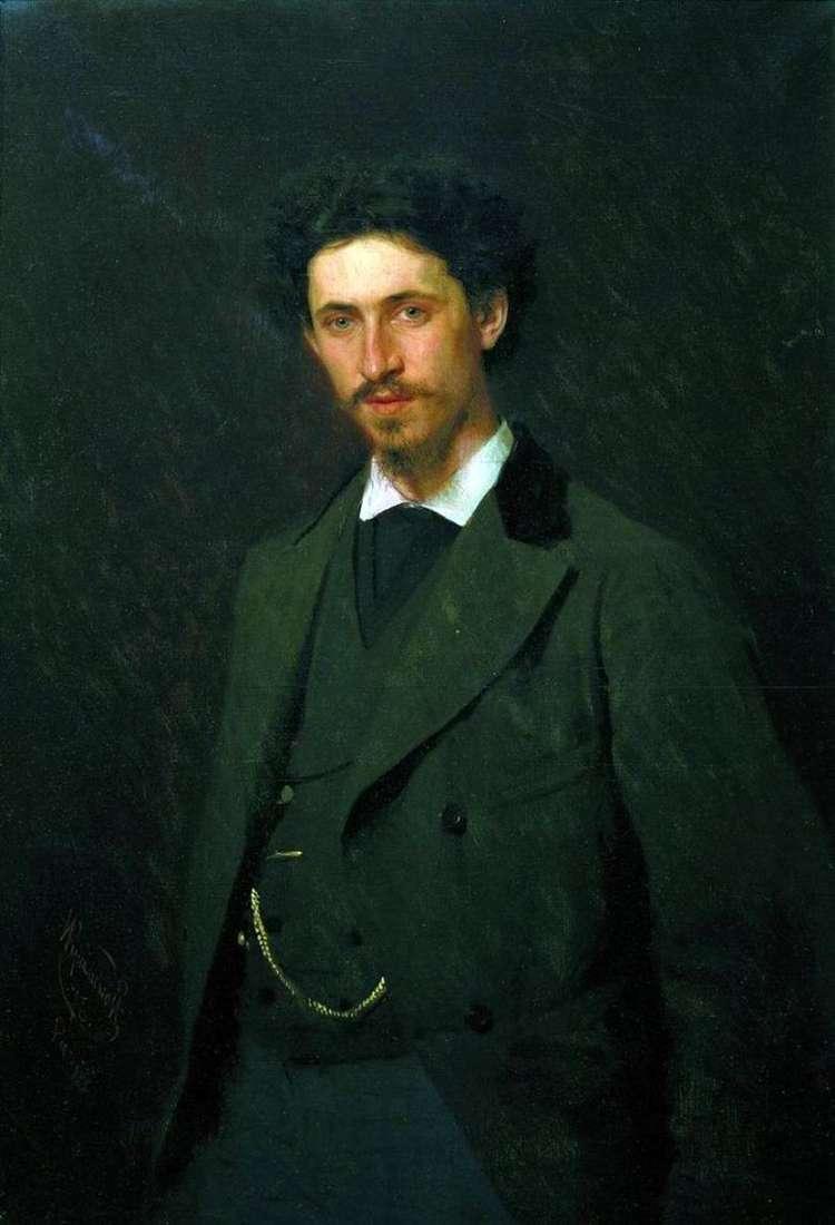 Описание картины Ивана Крамского «Портрет И. Е. Репина»