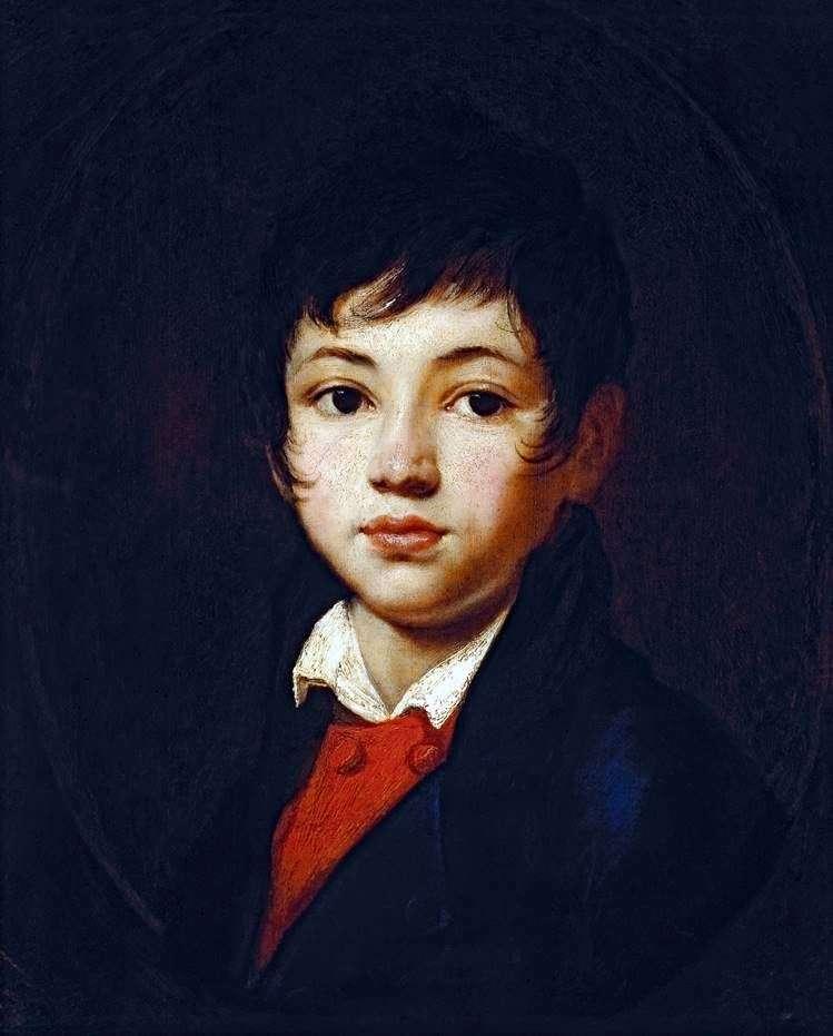 Описание картины Ореста Кипренского «Портрет Челищева»