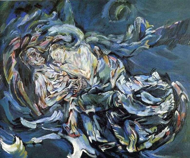 Описание картины Оскара Кокошки «Невеста ветра»