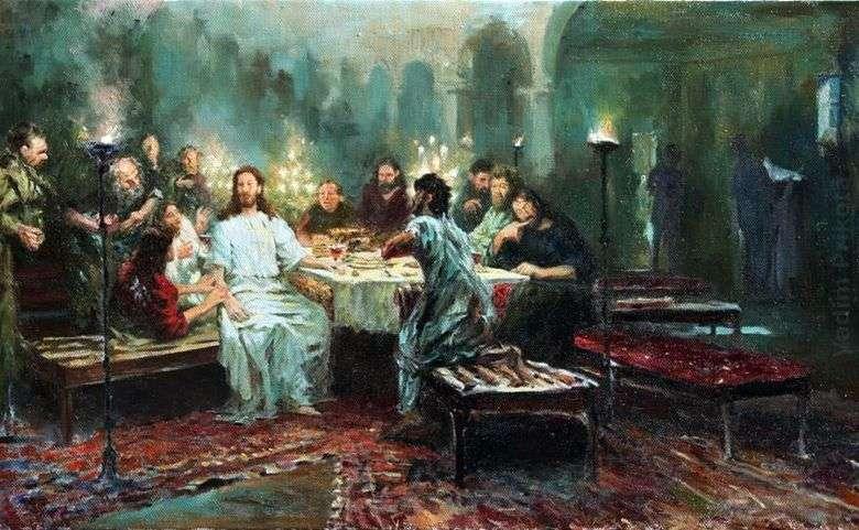 Описание картины Ильи Репина «Тайная вечеря»