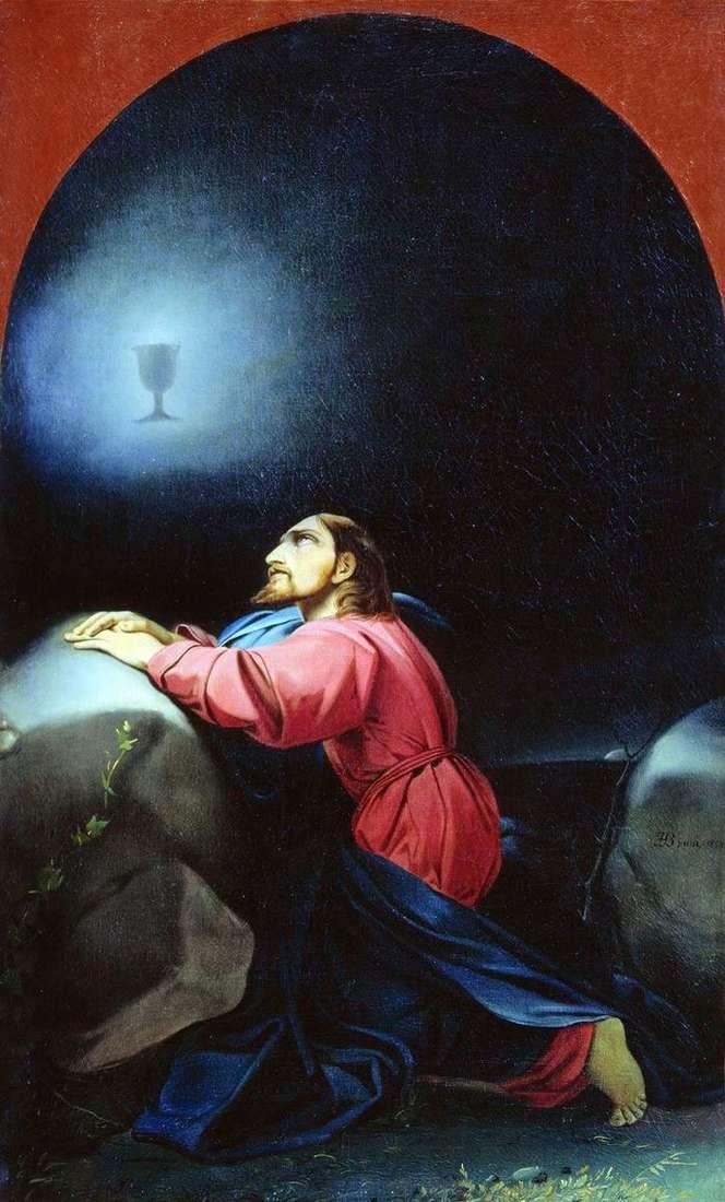 Описание картины Федора Бруни «Моление о чаше»