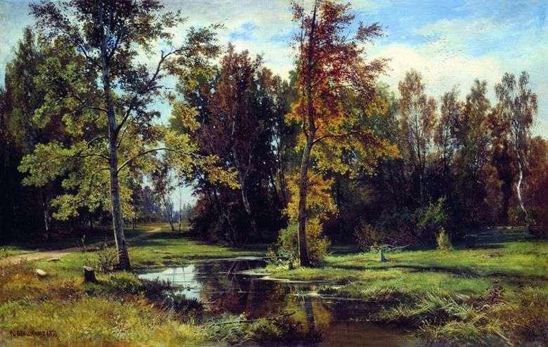 Описание картины Ивана Шишкина «Березовый лес»