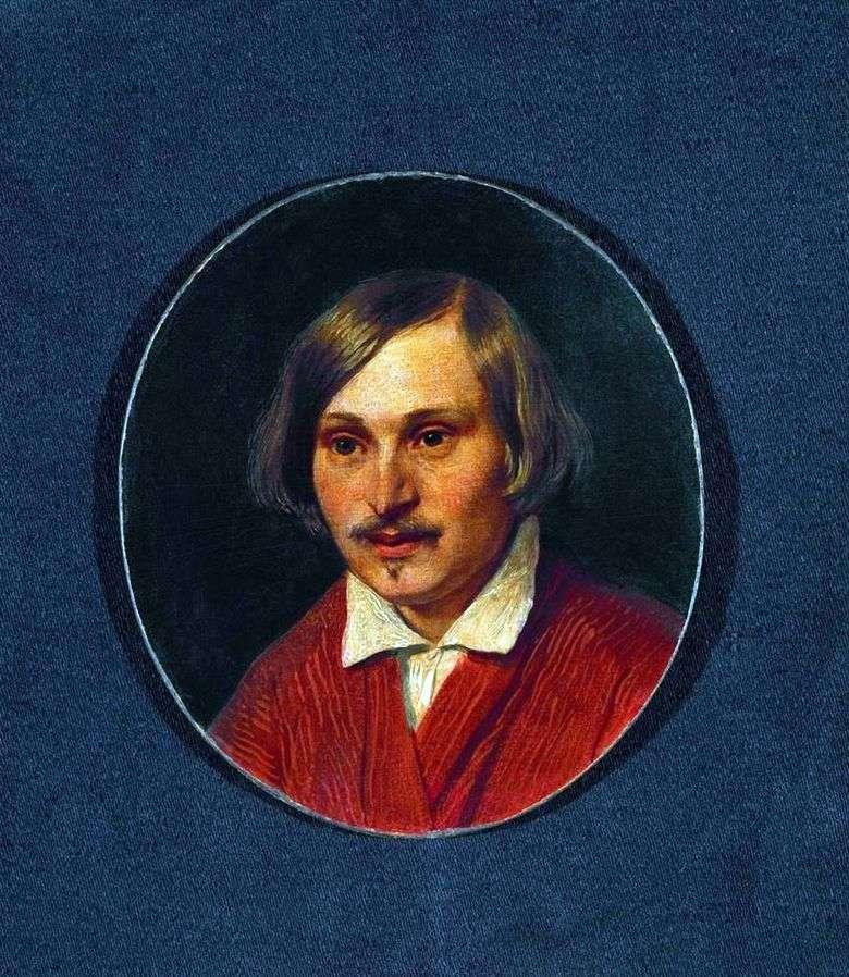 Описание картины Александра Иванова «Портрет Гоголя»