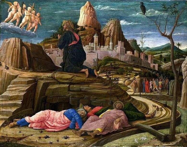 Описание картины Андреа Мантеньи «Моление о чаше»