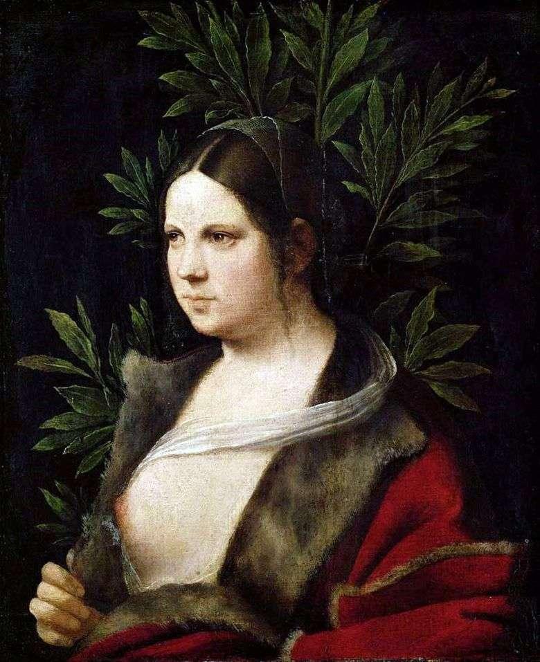 Описание картины Джорджоне «Лаура»