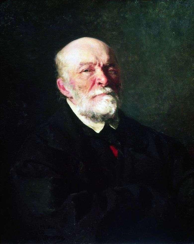 Описание картины Ильи Репина «Портрет Пирогова»