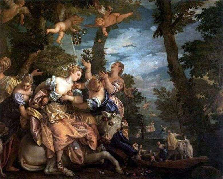 Описание картины Паоло Веронезе «Похищение Европы»
