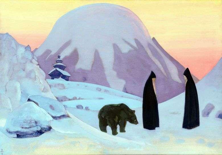 Описание картины Николая Рериха «И мы не боимся»