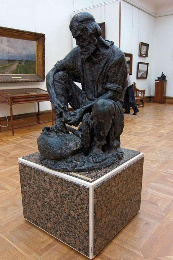 Описание скульптуры Сергея Конёнкова «Камнебоец»
