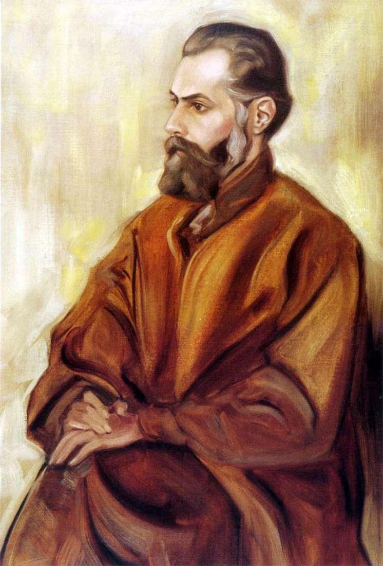 Описание картины Святослава Рериха «Автопортрет»