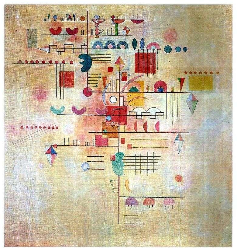 Описание картины Василия Кандинского «Нежное восхождение»