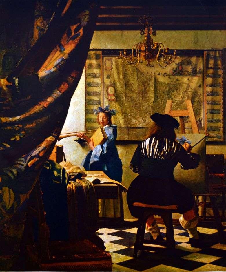 Описание картины Яна Вермеера «Аллегория живописи»