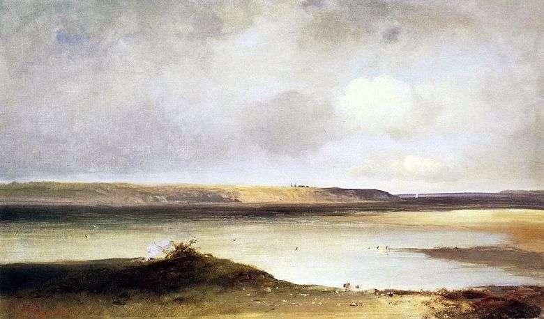 Описание картины Алексея Саврасова «Волга. Дали»