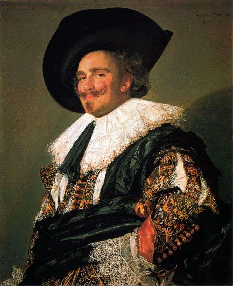 Описание картины Франса Хальса «Улыбающийся кавалер»