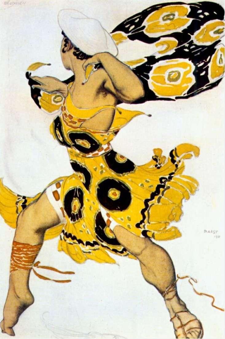 Описание картины Леона (Льва) Бакста «Молодой беотиец»