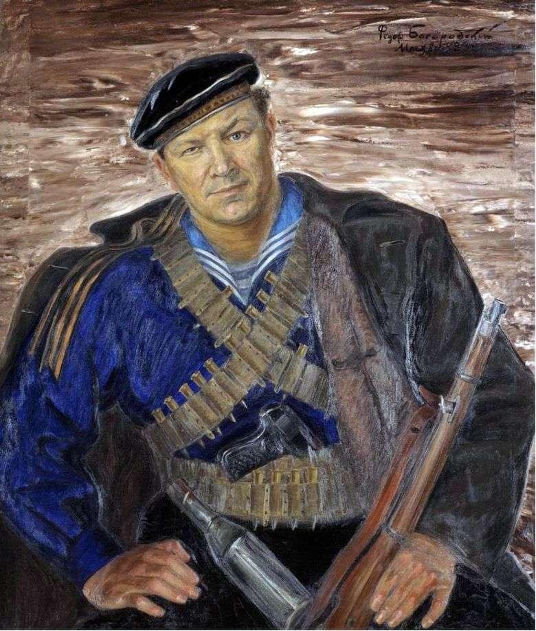 Описание картины Федора Семеновича Богородского «Братишка»