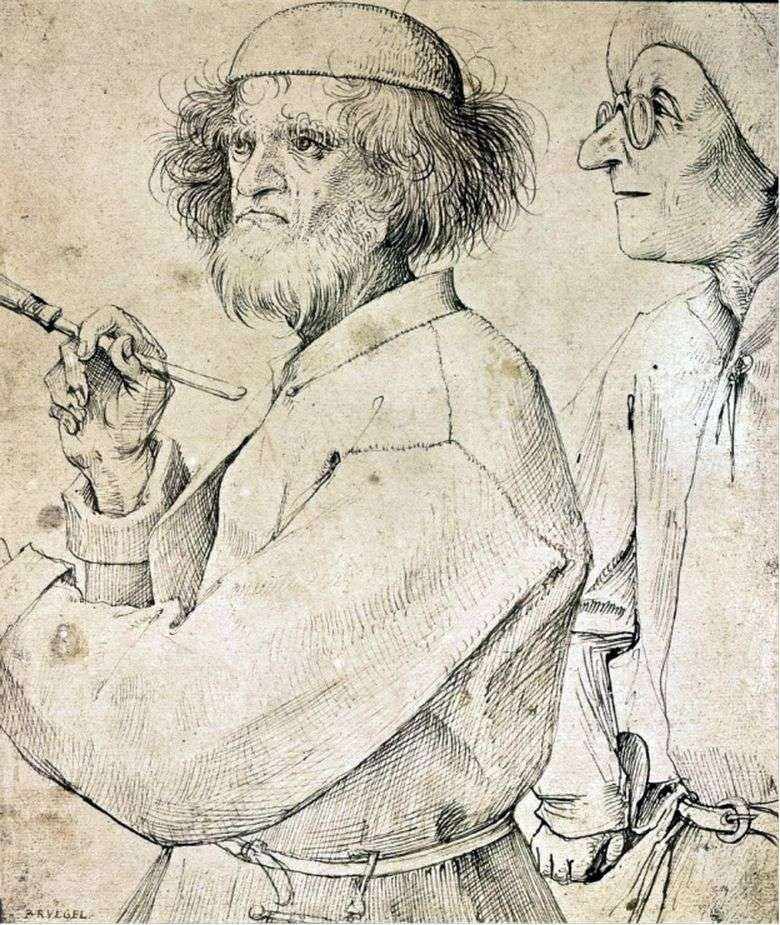 Описание картины Питера Брейгеля Старшего «Художник и знаток»