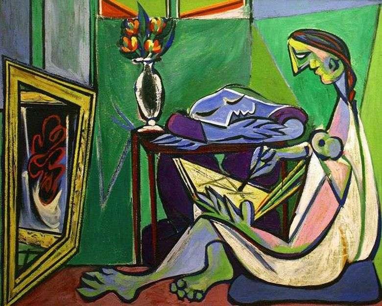 Описание картины Пабло Пикассо «Муза»