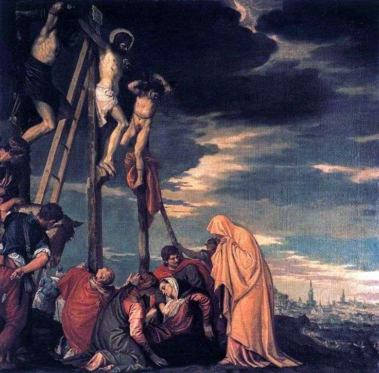 Описание картины Паоло Веронезе «Распятие. Голгофа»