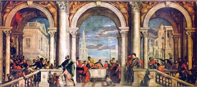 Описание картины Паоло Веронезе «Тайная вечеря»
