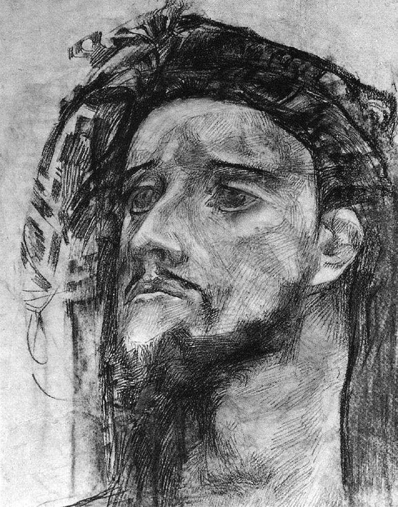 Описание картины Михаила Врубеля «Голова пророка»