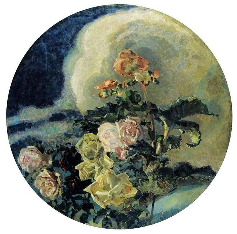 Описание картины Михаила Врубеля «Розы и Лилии»