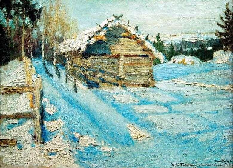 Описание картины Игоря Грабаря «Зимний вечер»