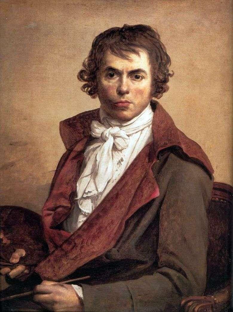 Описание картины Жака Луи Давида «Автопортрет» (1794)