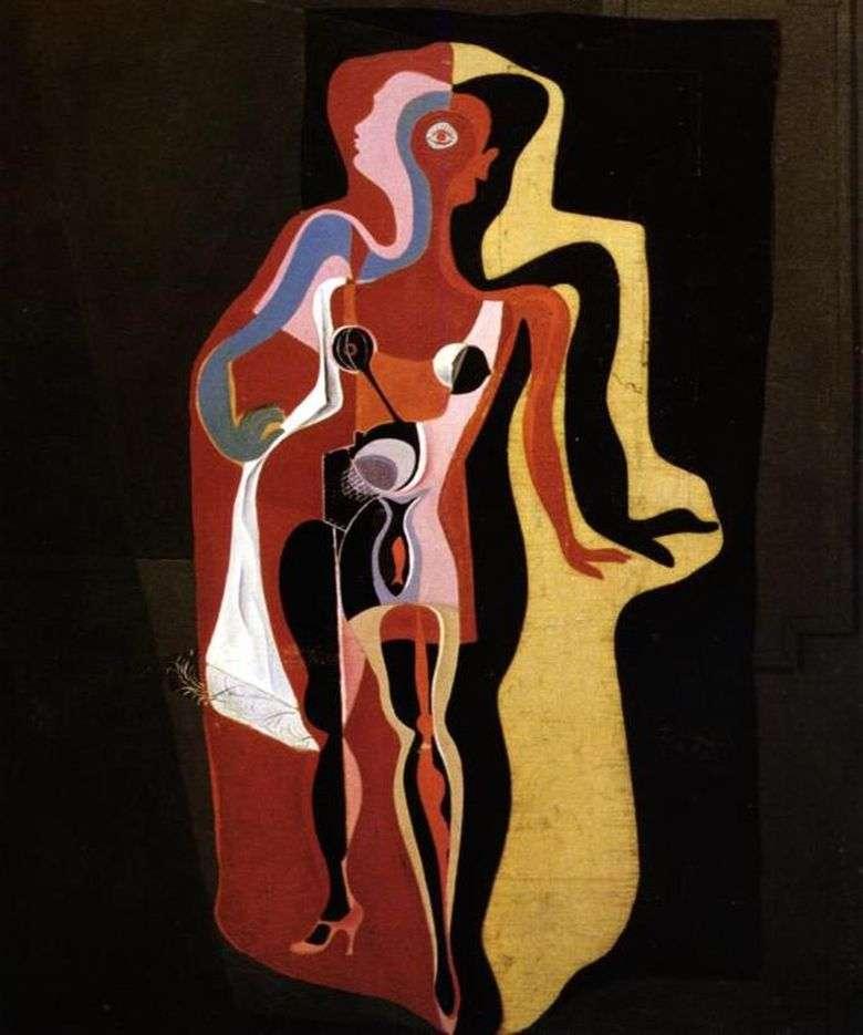 Описание картины Сальвадора Дали «Барселонская манекенщица»