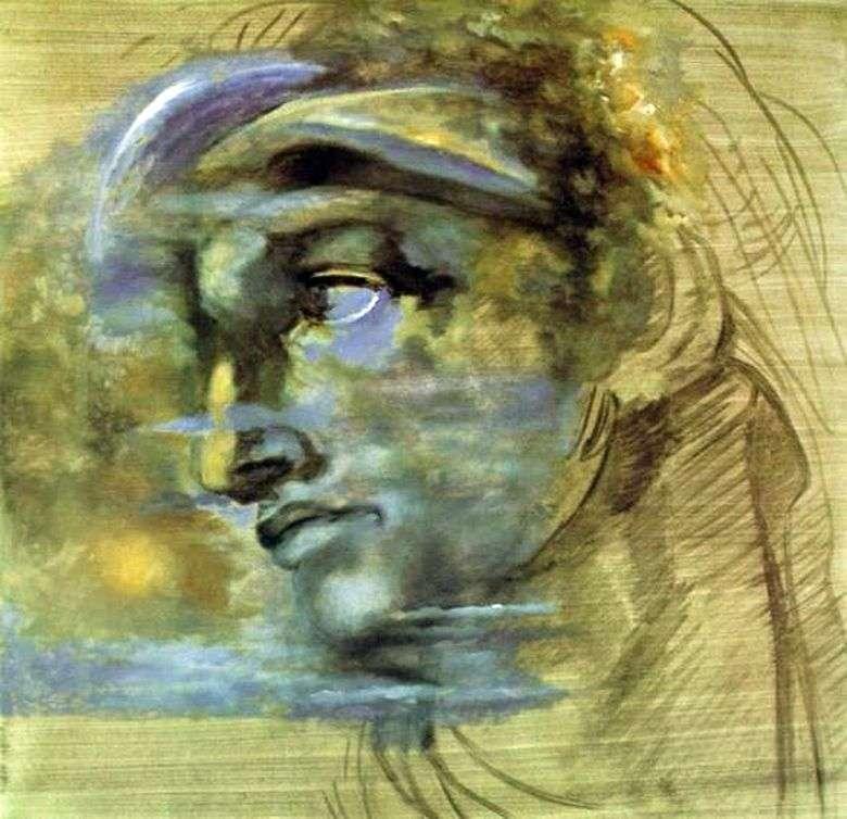 Описание картины Сальвадора Дали «Голова Джулиано ди Медичи Микеланджело»