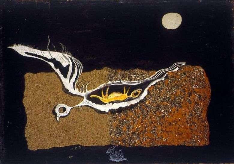 Описание картины Сальвадора Дали «Птица»
