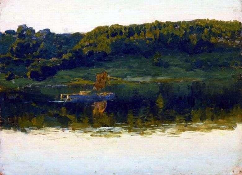 Описание картины Исаака Левитана «На Волге» (1888)