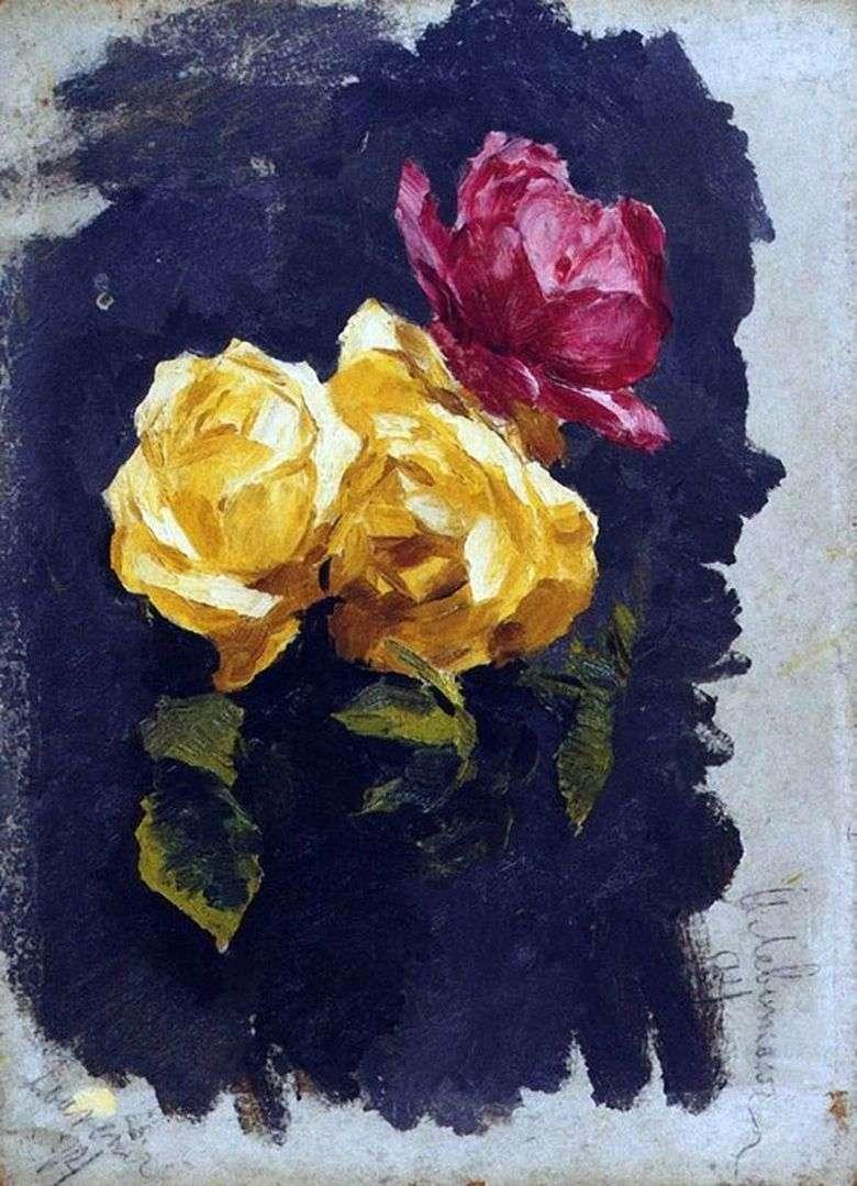 Описание картины Исаака Левитана «Розы» (1894)
