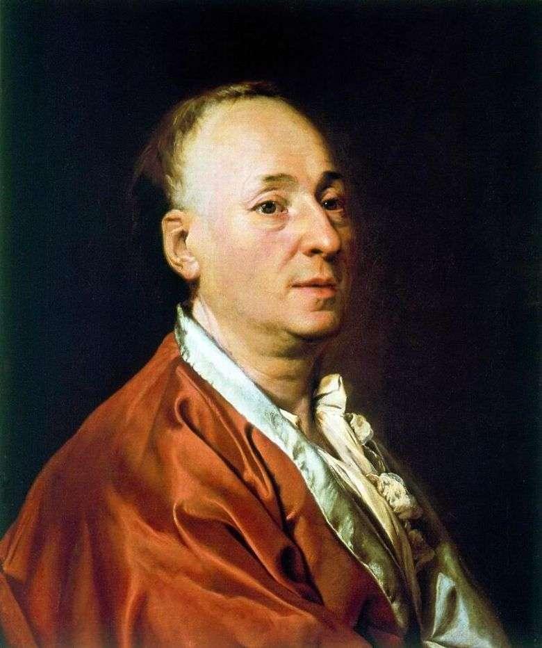 Описание картины Дмитрия Левицкого «Портрет Дени Дидро» (1773)
