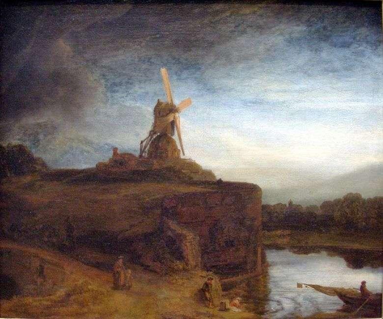 Описание картины Рембранта Харменса ван Рейна «Мельница»