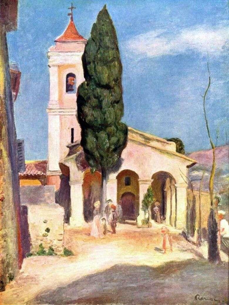 Описание картины Пьера Огюста Ренуара «Церковь в Кане»