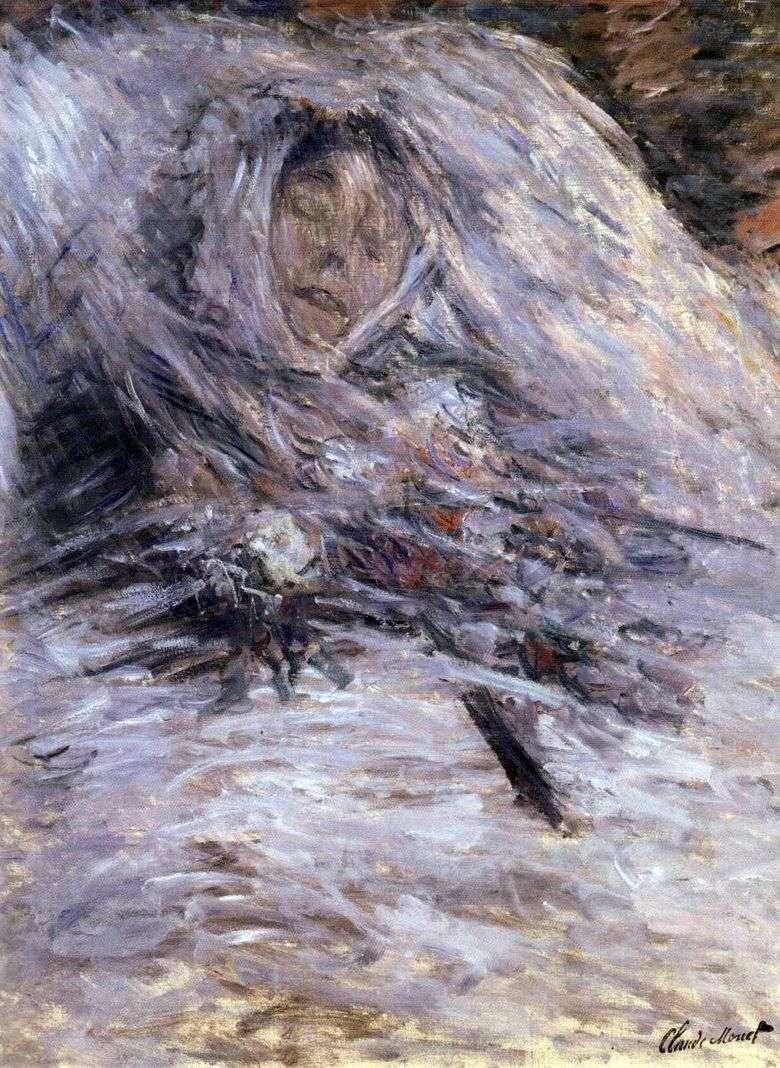Описание картины Клода Моне «Камилла на смертном одре»