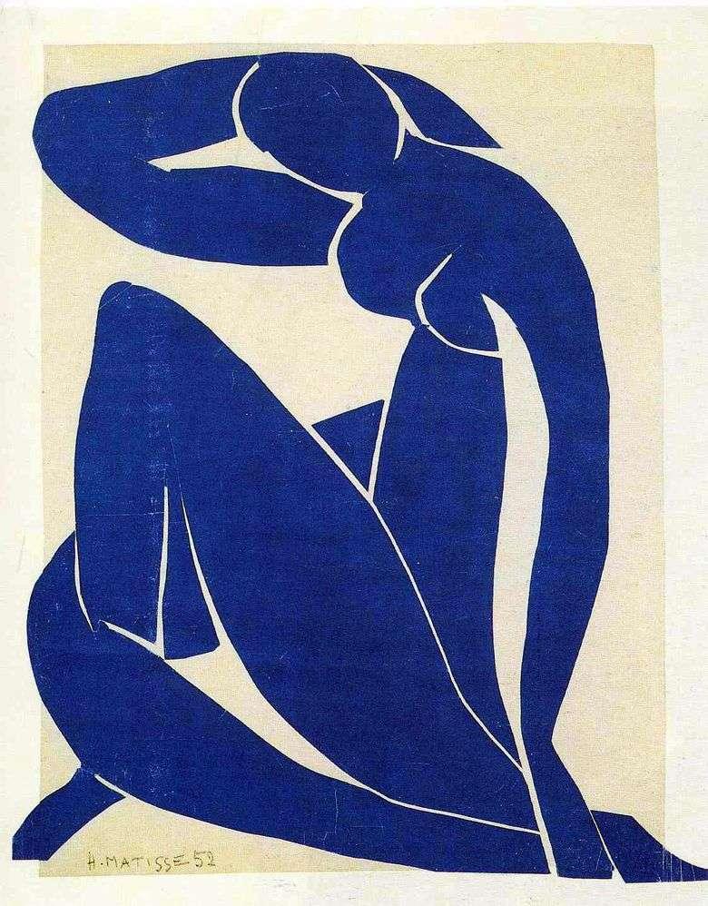 Описание картины Анри Матисса «Голубая обнаженная»