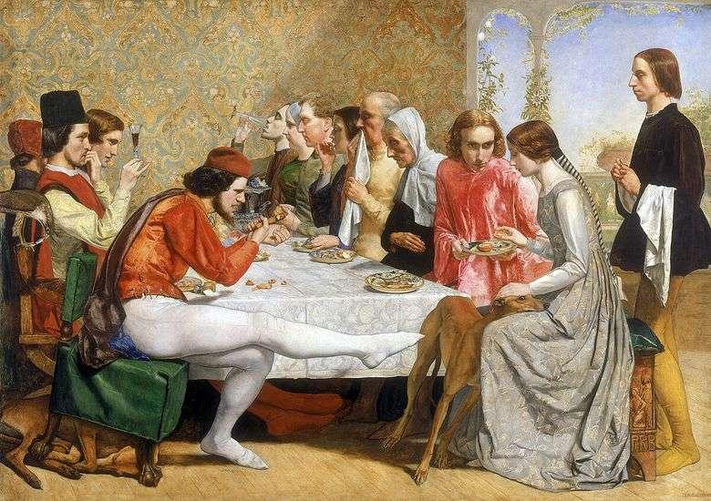 Описание картины Джона Милле «Изабелла»