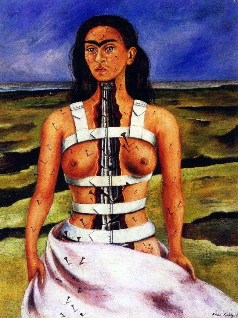 Описание картины Фриды Кало «Сломанная колонна»