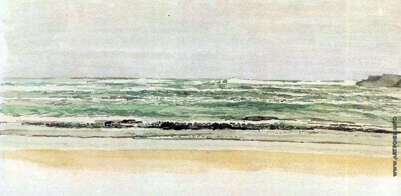 Описание картины Александра Иванова «Море» (1850 годы)