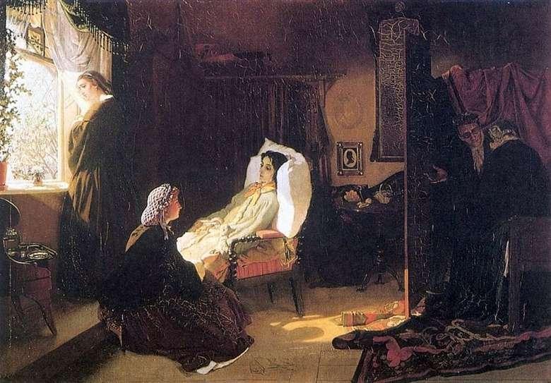 Описание картины Михаила Клодта «Последняя весна» (1861)