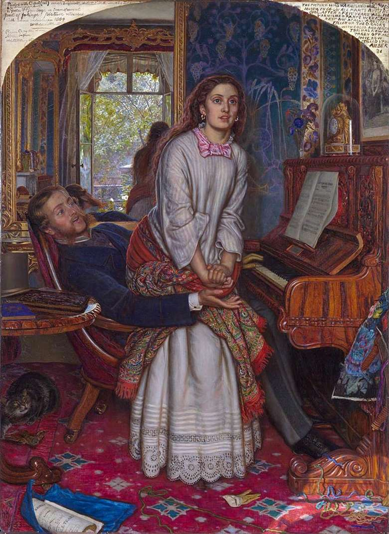 Описание картины Уильяма Ханта «Пробудившийся стыд»
