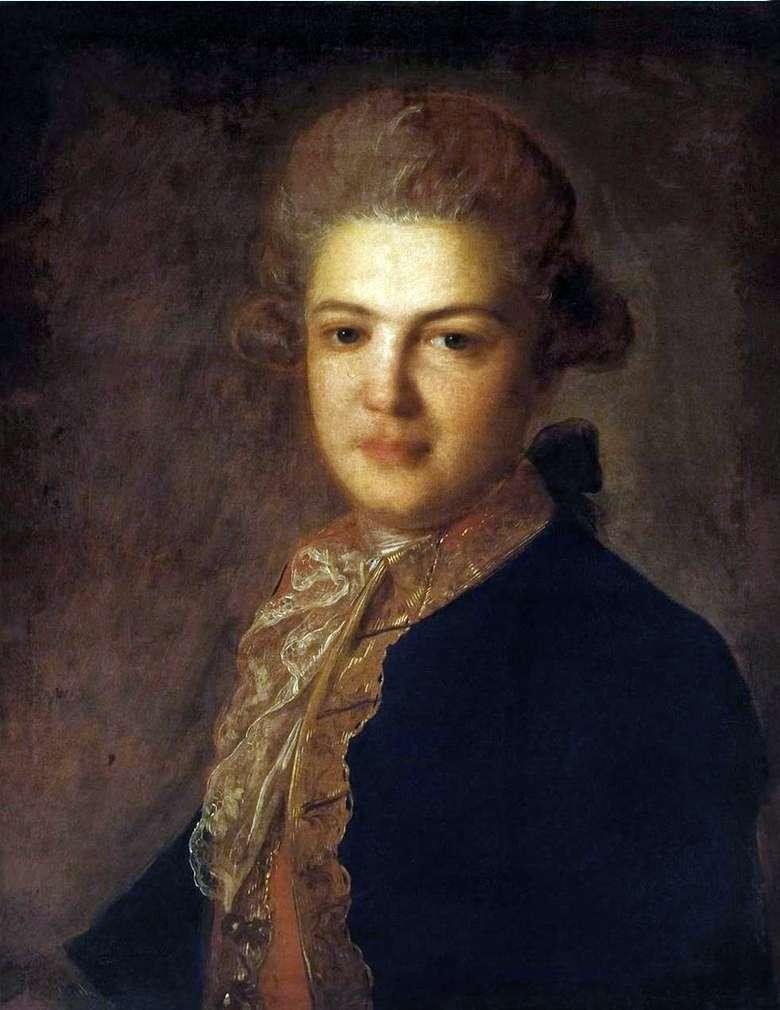 Описание картины Федора Рокотова «Портрет графа А. И. Воронцова»