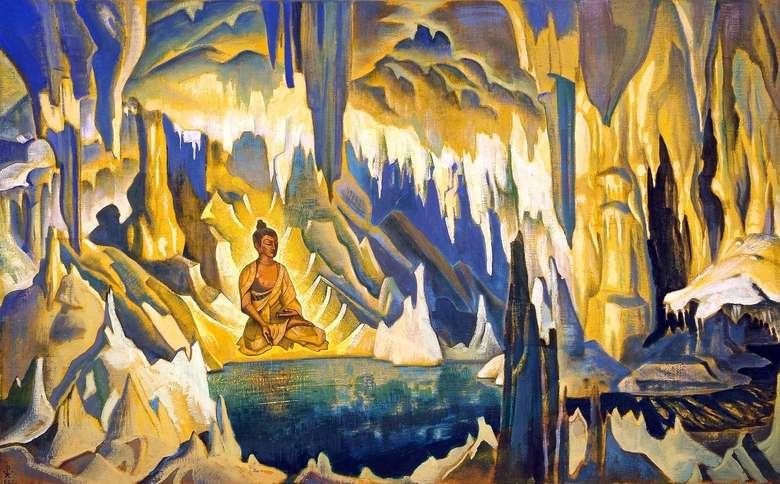 Описание картины Николая Рериха «Будда   победитель»