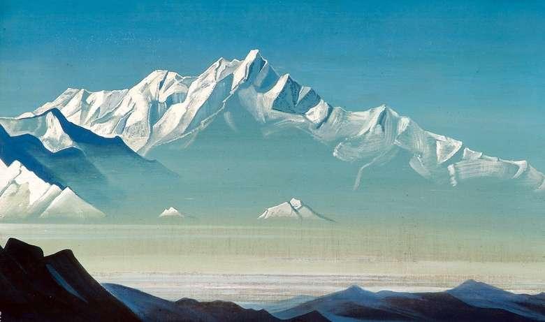 Описание картины Николая Рериха «Гора пяти сокровищ»