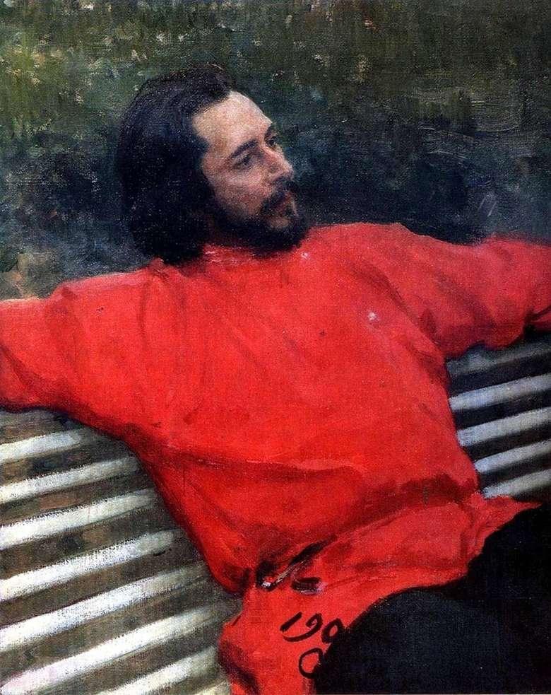 Описание картины Ильи Репина «Портрет Андреева»
