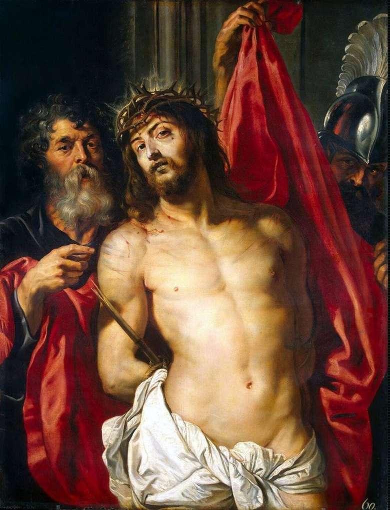 Описание картины Питера Рубенса «Христос в терновом венце»